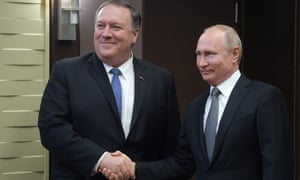 普京会见蓬佩奥,双方愿意修正俄美关系、恢复交流渠道