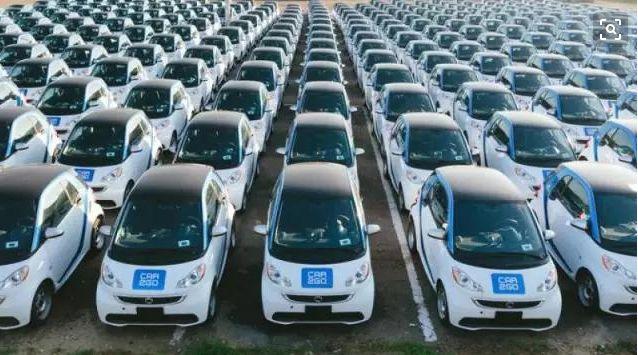 不堪竞争激烈,戴姆勒旗下共享汽车品牌car2go退出重庆