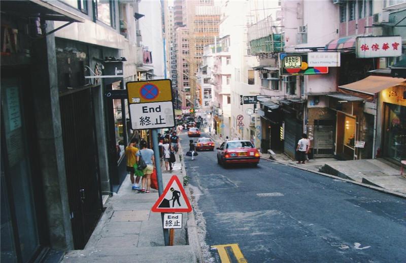 香港旧街图片