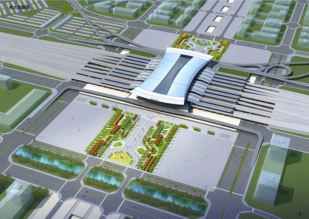 襄阳东津站站房钢结构封顶,整体轮廓全面亮相 视频
