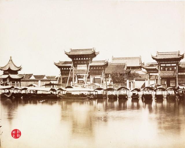 从清末老照片,看百年前的南京夫子庙