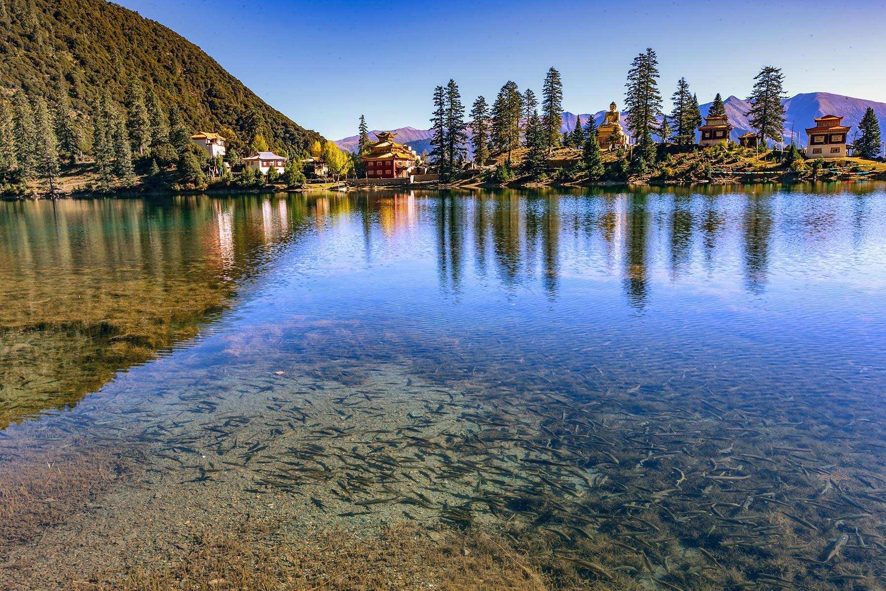 川西措卡湖——一个隐藏的九天瑶池