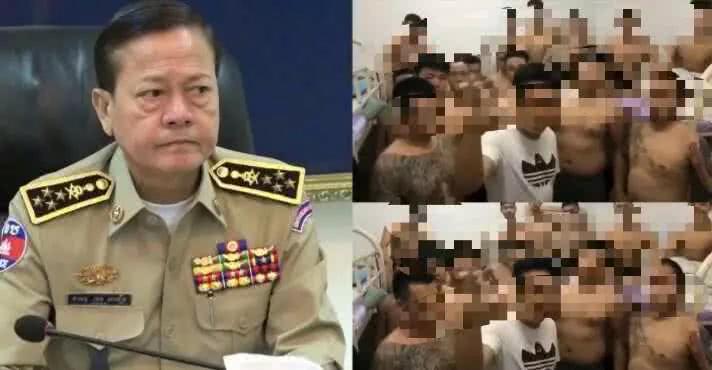 """柬警方:扬言搞乱柬社会治安的""""中国黑帮""""不在柬"""