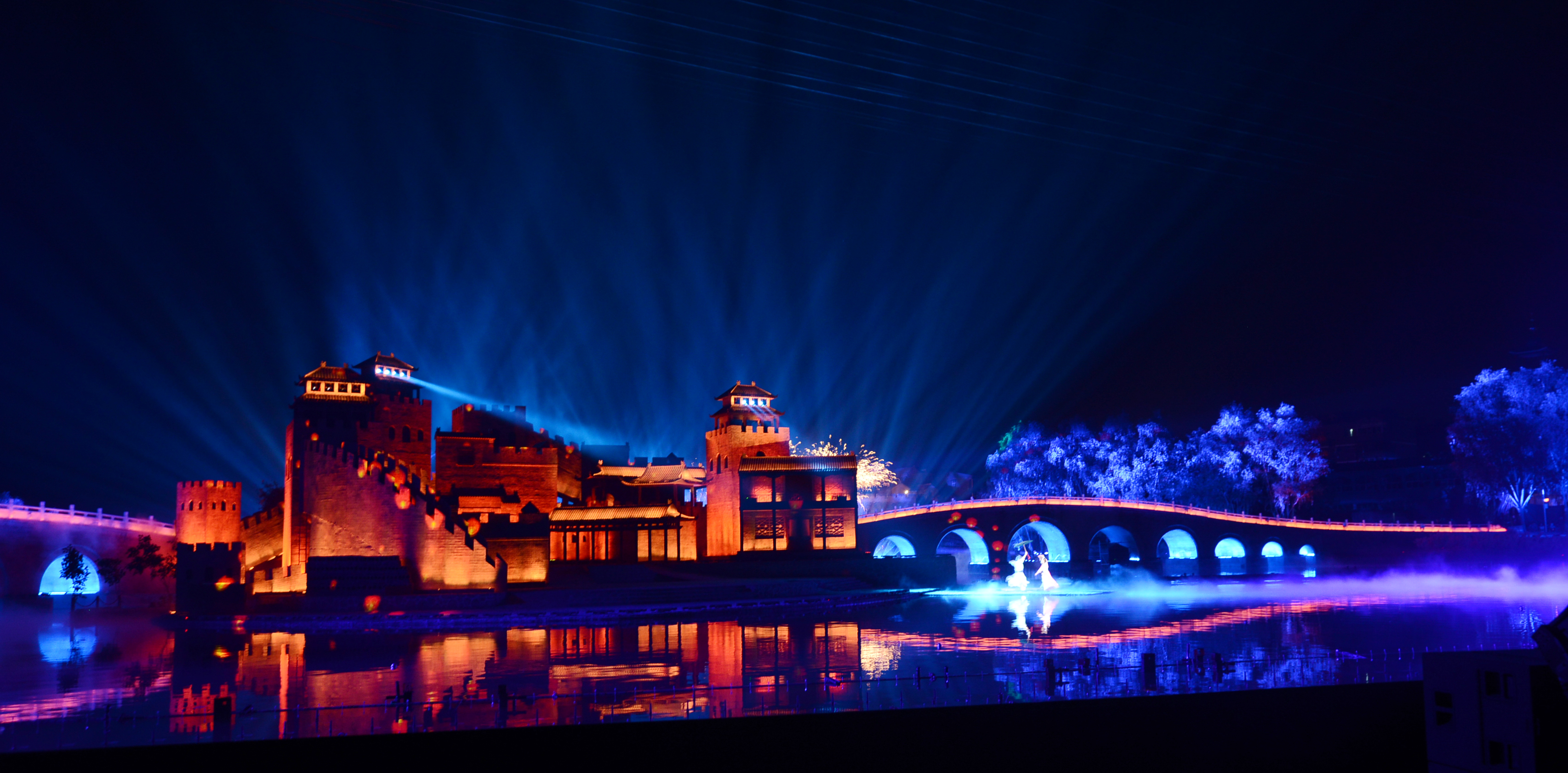 第五届山西(晋城神武投石问路)太行山文化旅游节启幕快到阳城古堡看《古堡!