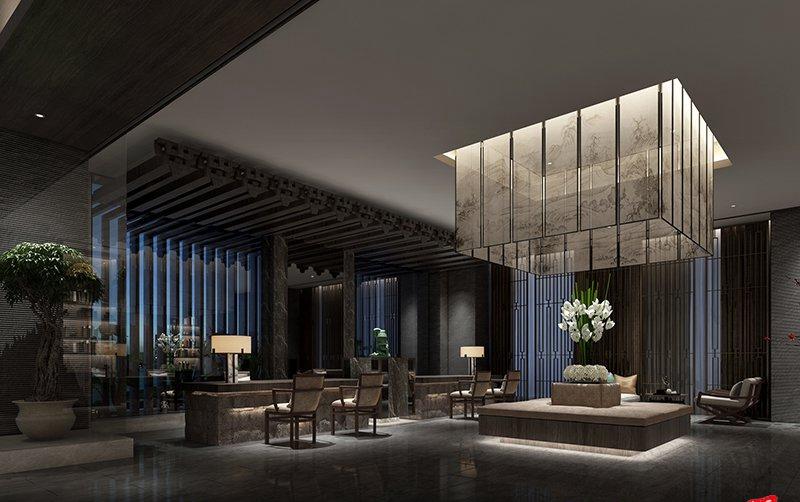 酒店内部的视觉效果和外观设计相一致