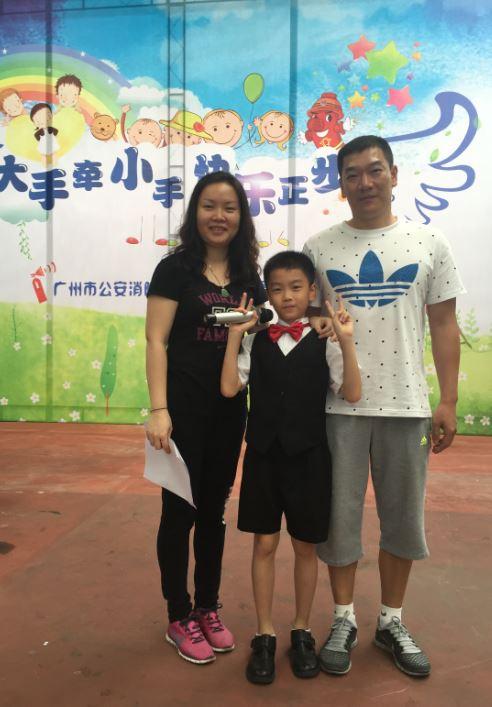 向消防英雄致敬 蔡斯迪 李盛元家庭获评全国 最美家庭