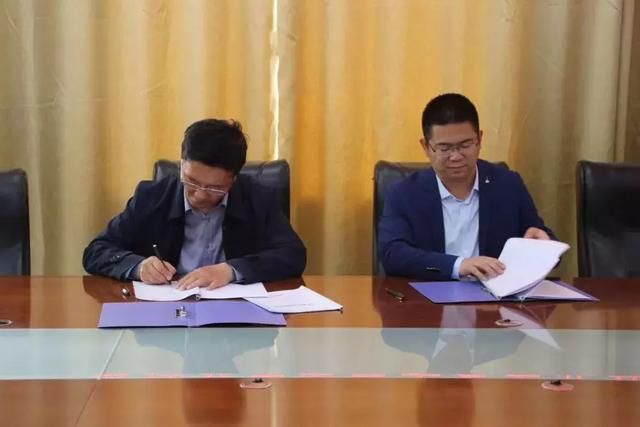 坐标天下(北京)与阜阳一职高,校企融合联合办学