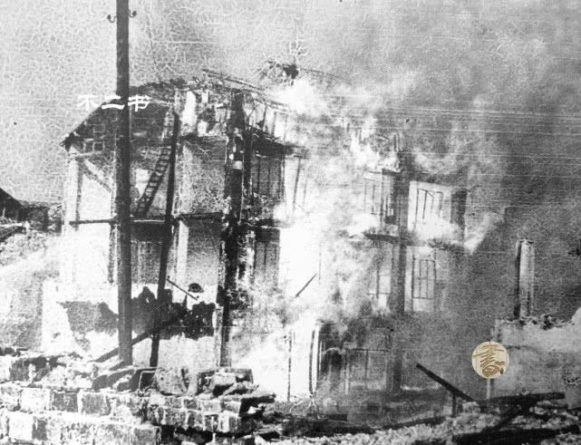 老照片:日军侵华对重庆实施轰炸的镜头,先辈的苦难侵略者的罪证