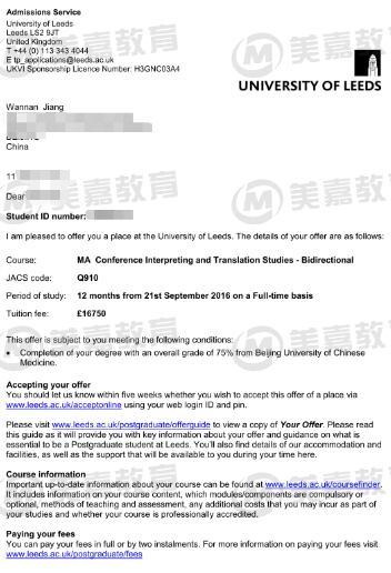 原创北京中医药大学医学英语才女获英国同声传译名校录取