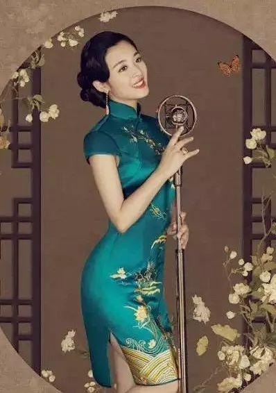 朗诵艺术杂志丨于丽红:旗袍,东方女子的靓影