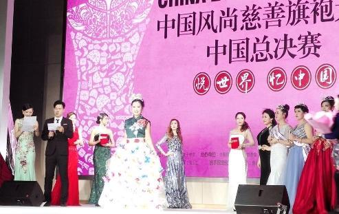从旗袍女神到非遗宣传者,严宝珊身体力行弘扬中国传统文化