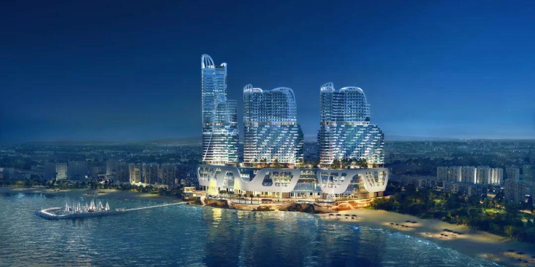 筑西港封面丨太子天玺湾顶奢配套之超五星级酒店图片
