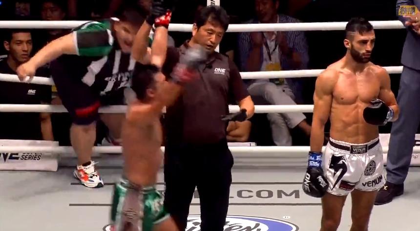 2019年7月12日ONE冠军赛 乔治vs莫拉克 二番战[视频] Petrosyan vs. morrakot