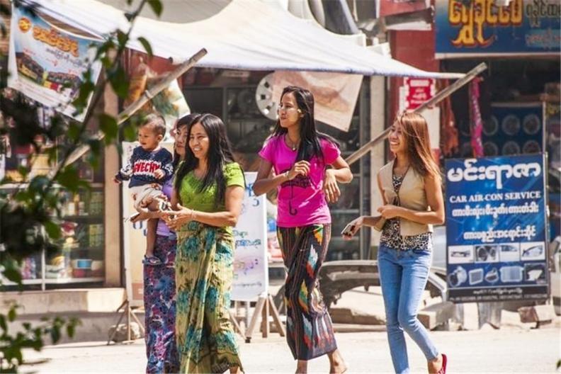2千块钱可兑50万缅甸元,在缅甸能做什么?让当地美女告诉你