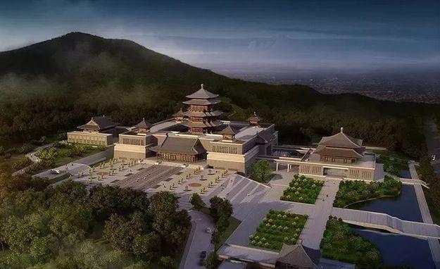 最新进展!襄阳市博物馆新馆三大单体建筑拔地而起!