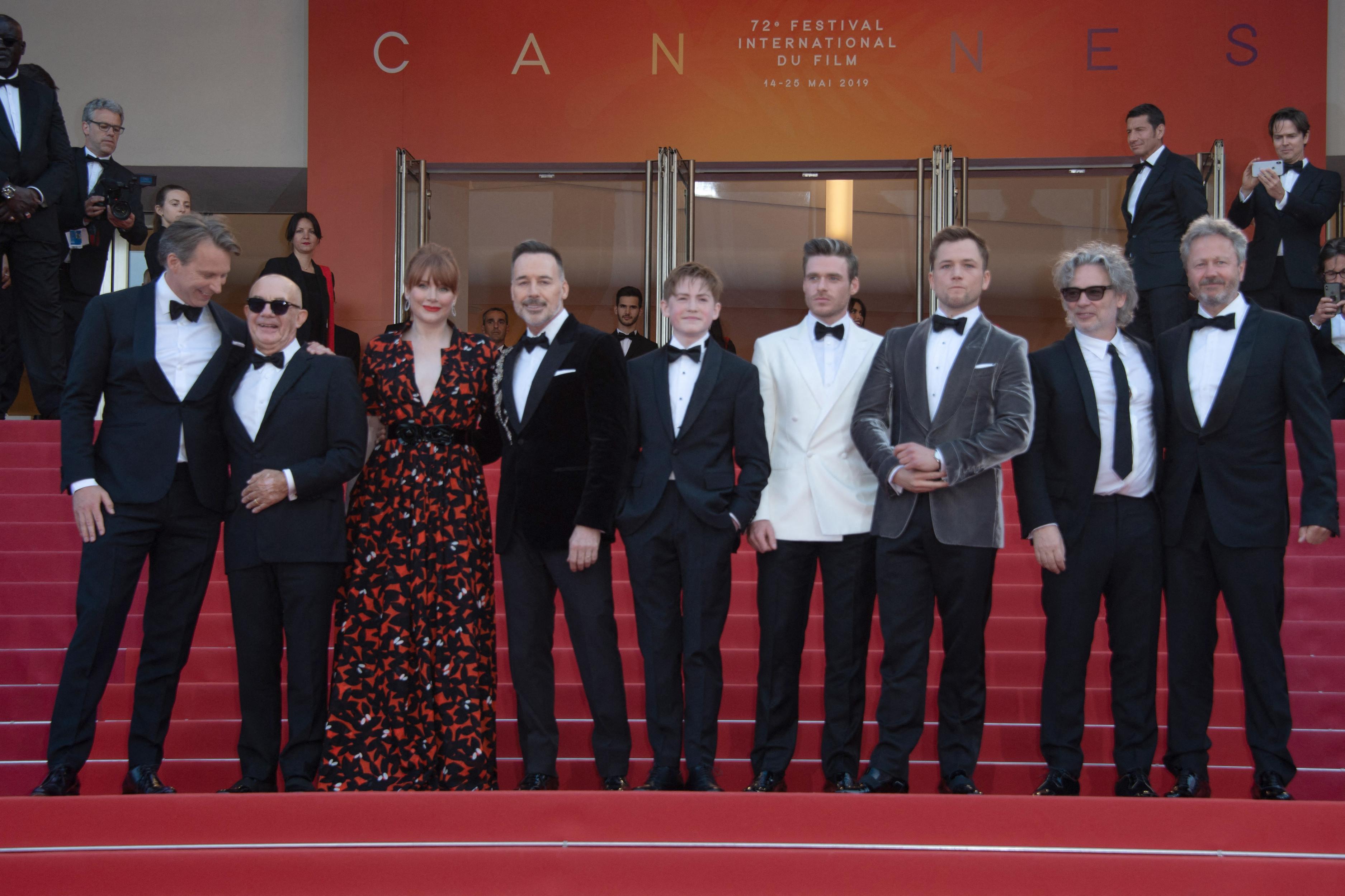 戛纳电影节DAY3:吴彦祖李宇春现身红毯,《火箭人》令人惊喜