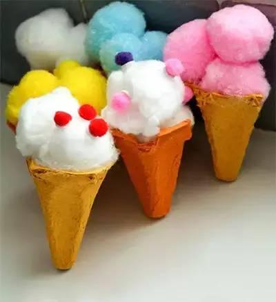 【巧妈手工】10款幼儿园冰淇淋手工制作教程_diy