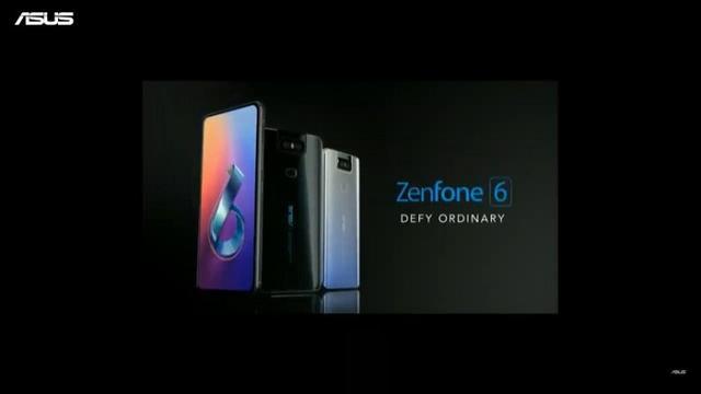 华硕ZenFone 6正式发布,翻转式摄像头设计!