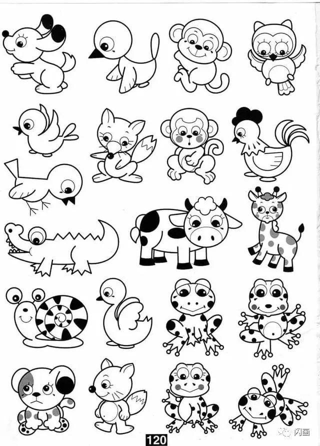 各种小动物的100种画法