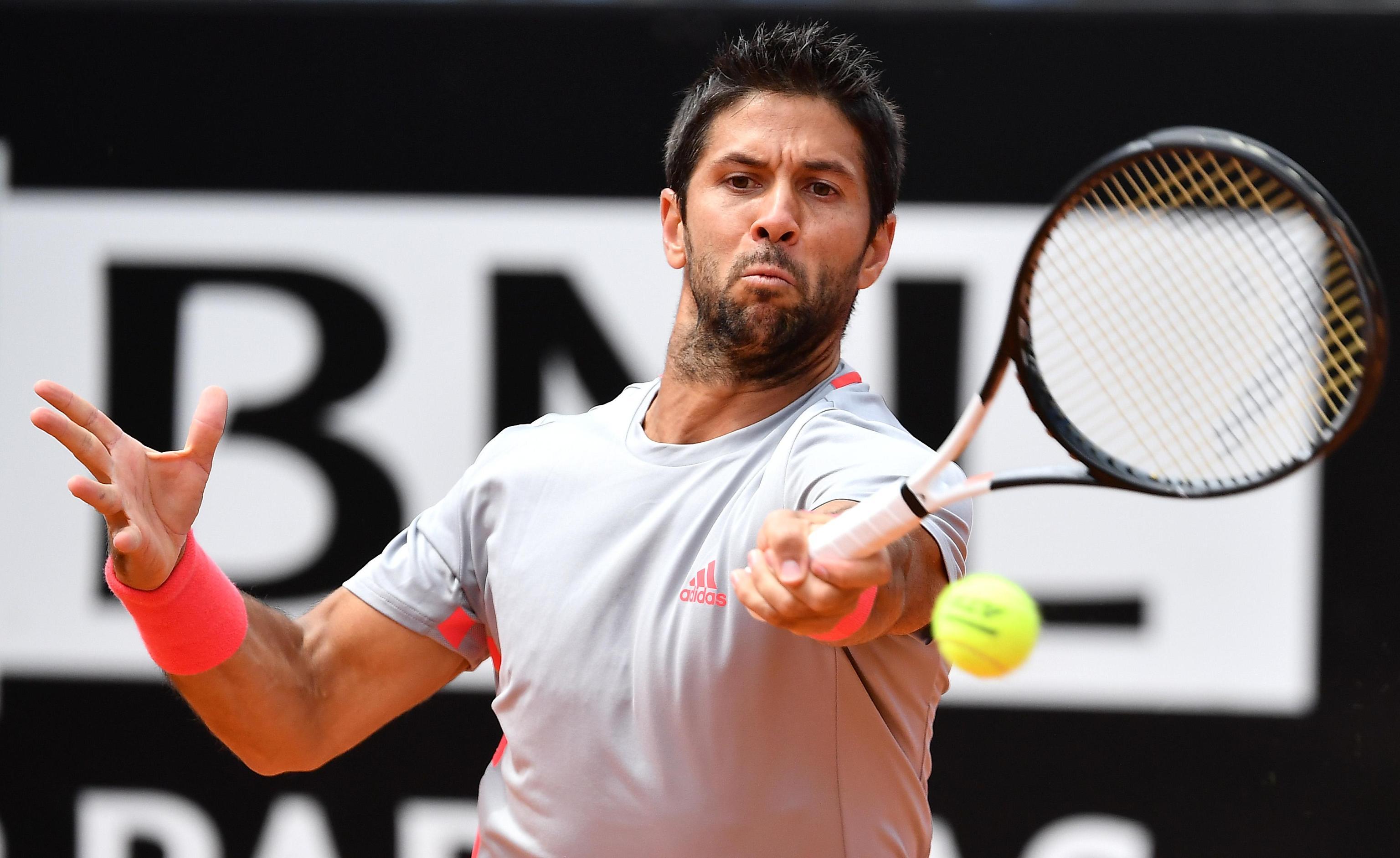 网球——意大利公开赛:纳达尔晋级半决赛