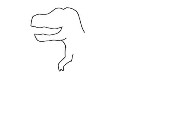 简单有趣的恐龙简笔画来了