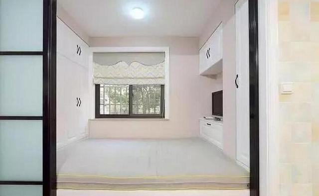 原创85㎡两居室,次卧全房榻榻米,还能这样装修,估计你都没见过!图片