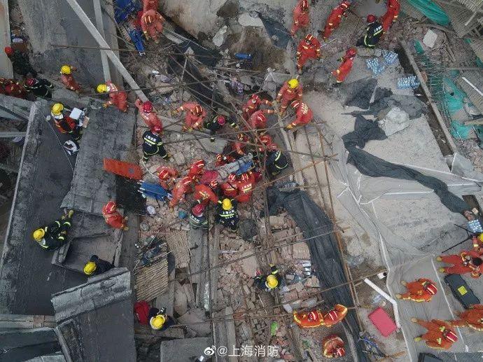 10人死亡15人受伤!上海厂房坍塌