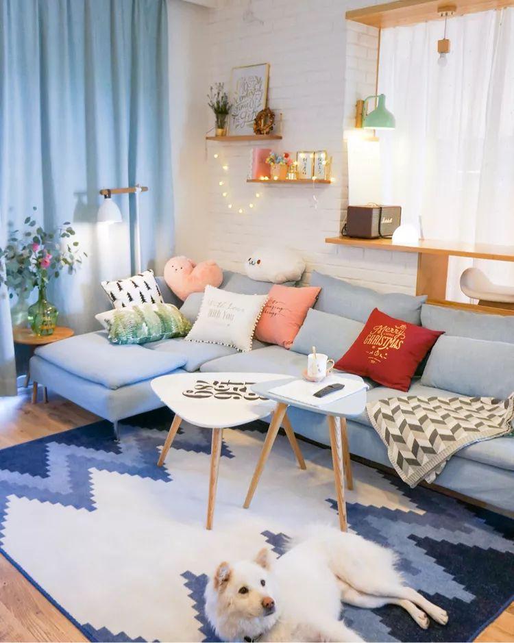 入门级彩色窗帘搭配法,你都会吗?