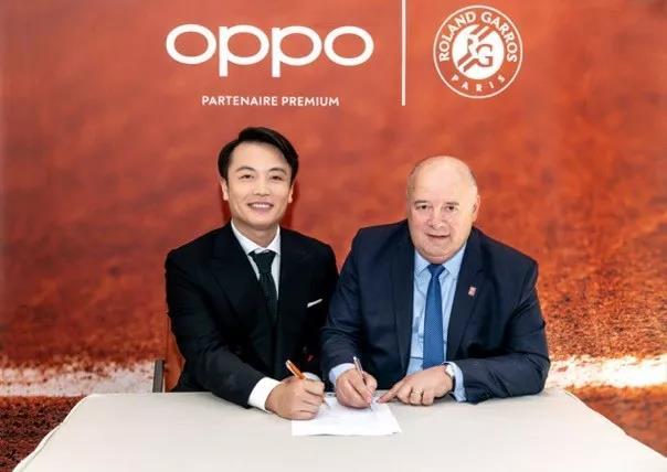 成功牵手法网OPPO借力体育营销打造全球品牌