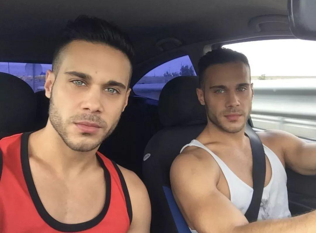 3e152bc992a94bfdb849603394d2be6f - 马德里海尔兄弟 Perez twins 最性感的双胞胎GoGoBoy