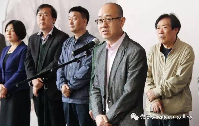 天津美术馆馆长马驰代表东道主致辞