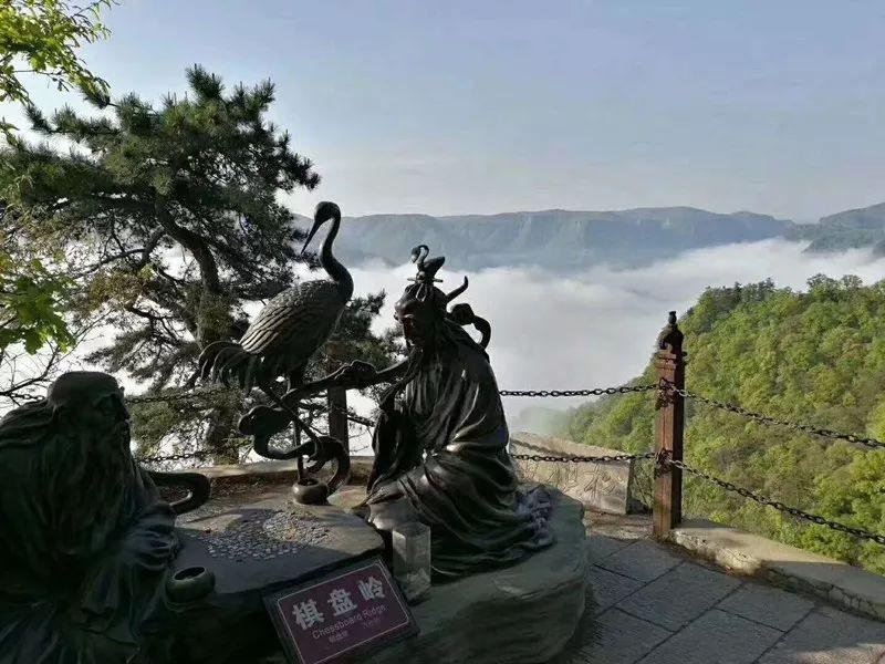 崆峒山景区