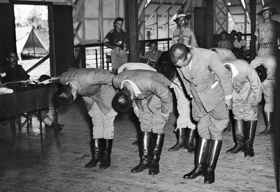 7张老照片展示澳大利亚审判、关押、处决日军战犯全过程