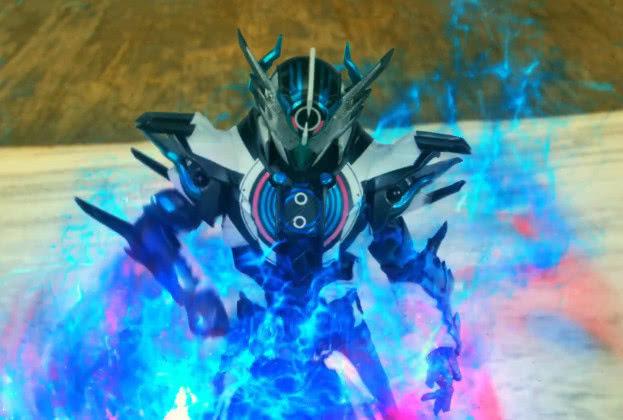 龙��e�:,^��~K����_假面骑士:正义与反派组合,吃瘪龙和e总最强,铠武和斩月神似!