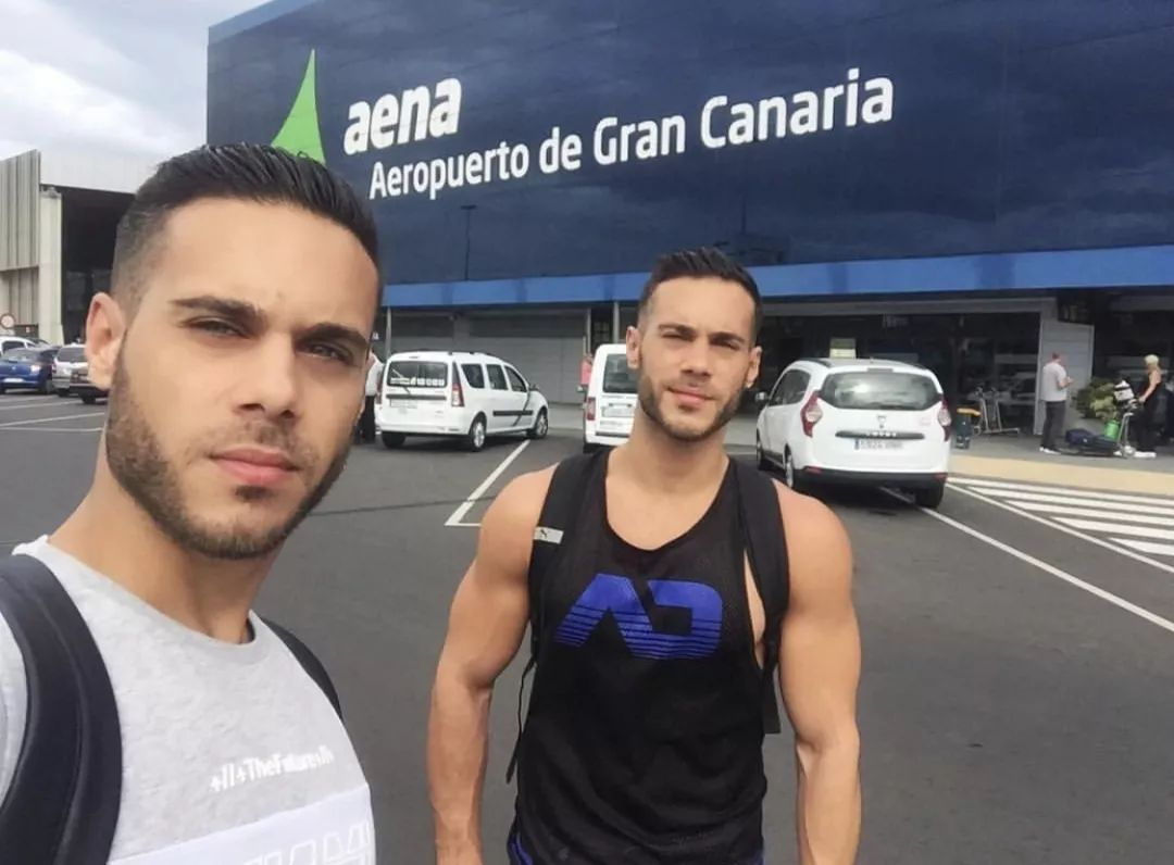 71d6bc37dd4a49329a6126ed79c1f0a2 - 马德里海尔兄弟 Perez twins 最性感的双胞胎GoGoBoy