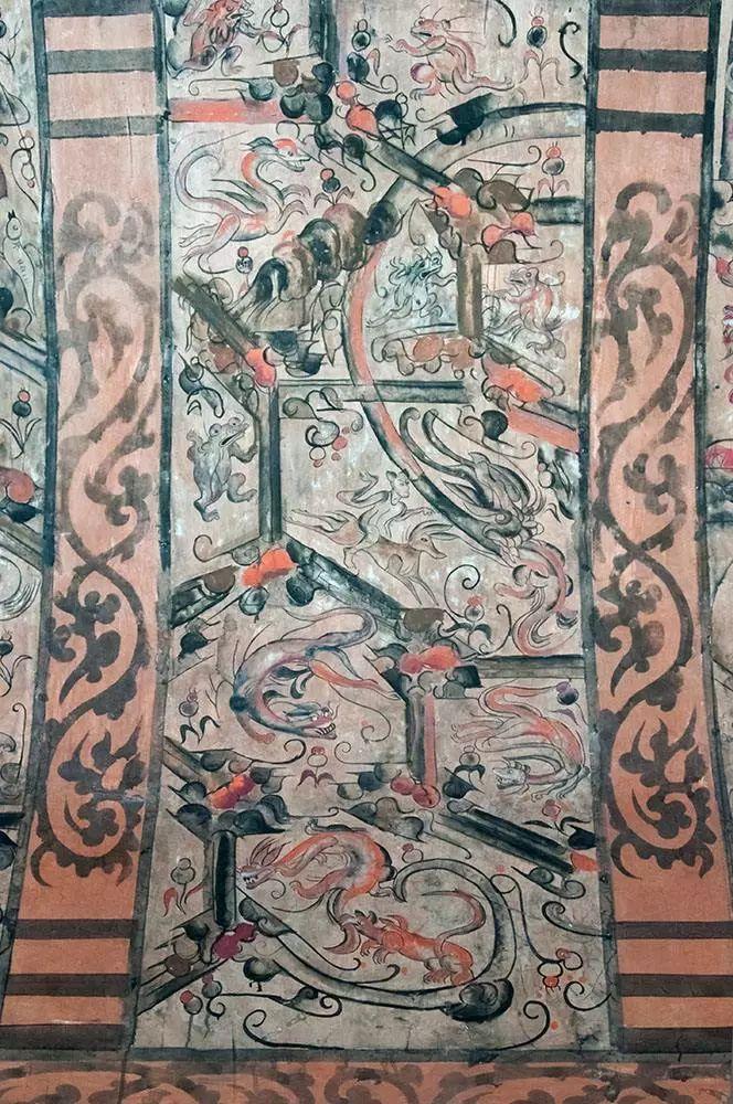 平陆枣园汉墓壁画_墓室壁画在美术史上的重要地位_中国