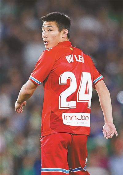 武磊踢完西班牙人队的