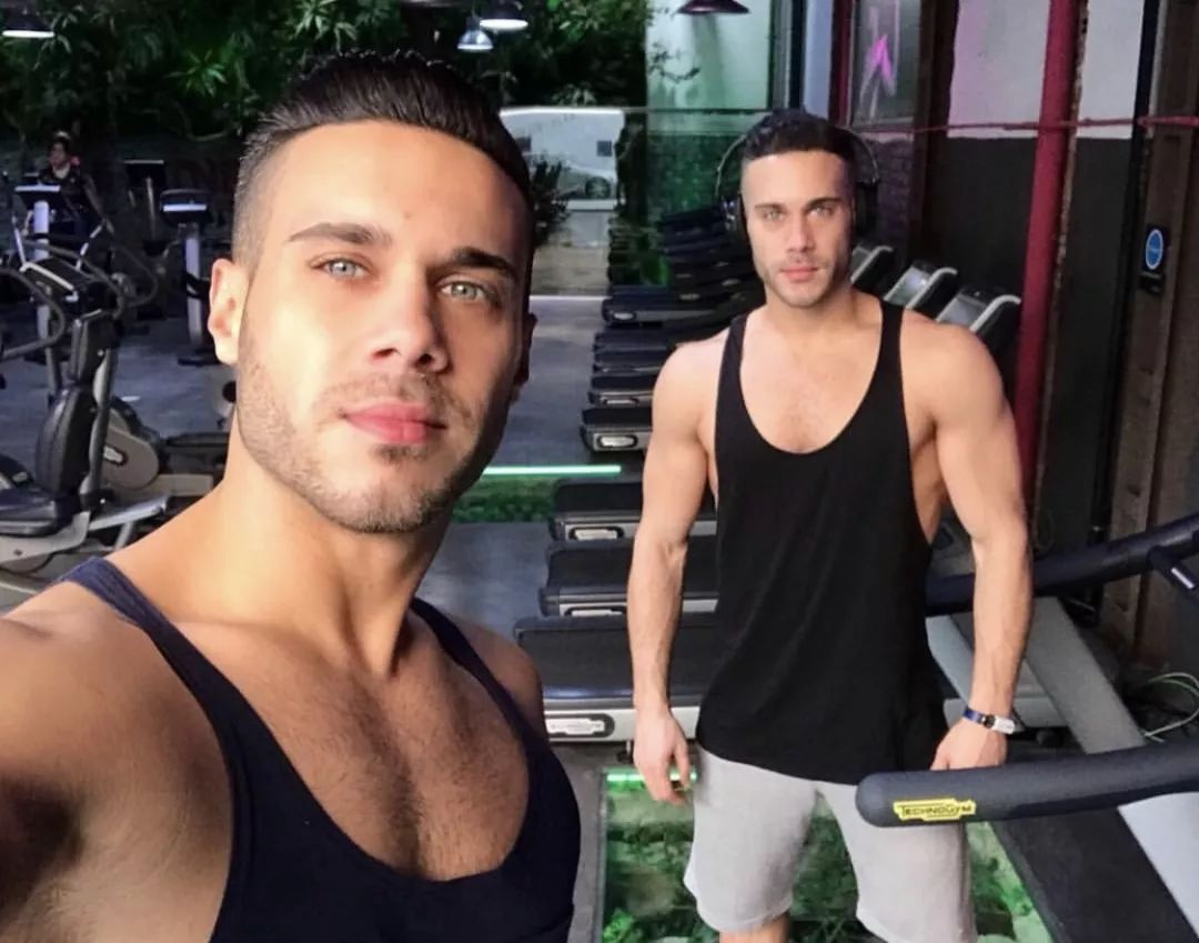 bc20f192e1a042479b5316388abcce9b - 马德里海尔兄弟 Perez twins 最性感的双胞胎GoGoBoy