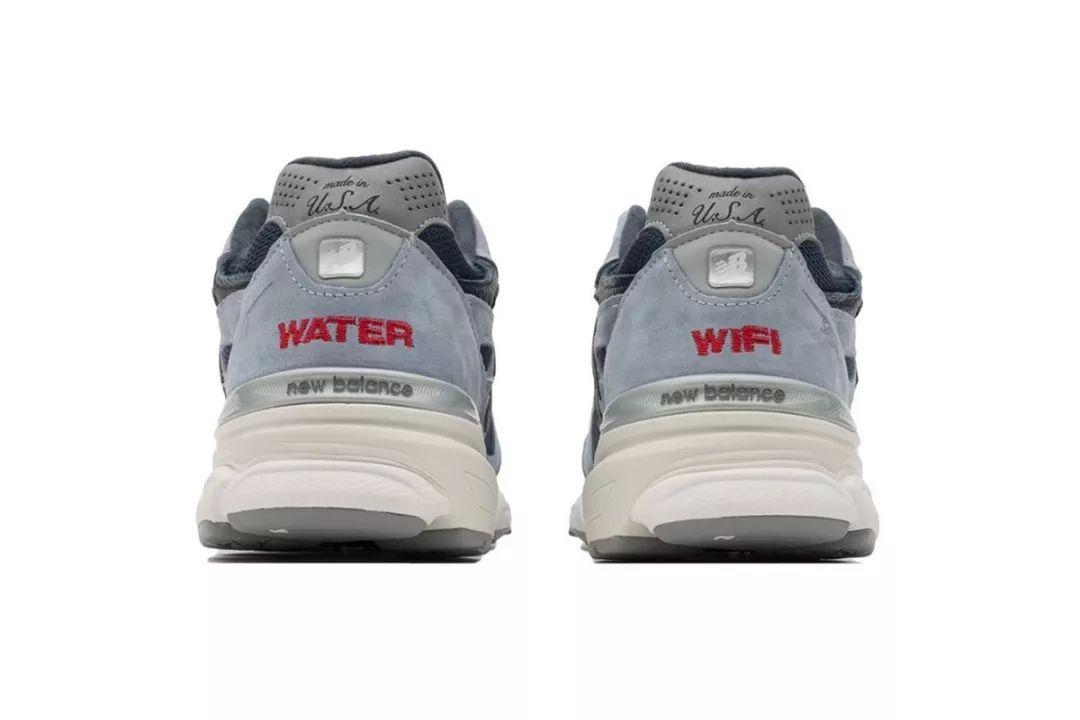 1eae0c1b3692b 本次双方选用了美产990v3 作为联名鞋款