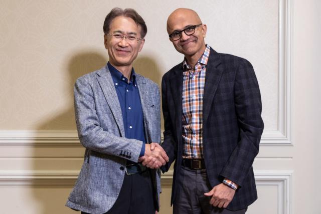 索尼宣布与微软合作并回购股票(股价大涨近10%)