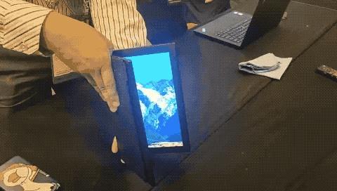 我们试了试联想可折叠屏PC,发现它还缺一点键盘手感 5G资讯 第3张