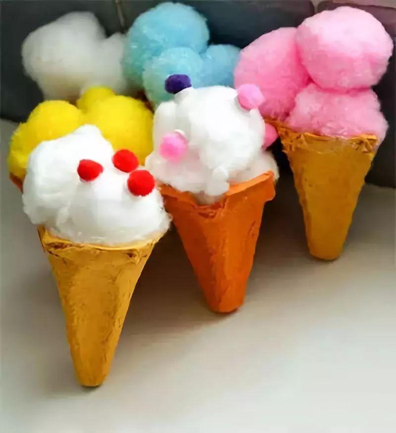 冰淇淋手工制作用纸