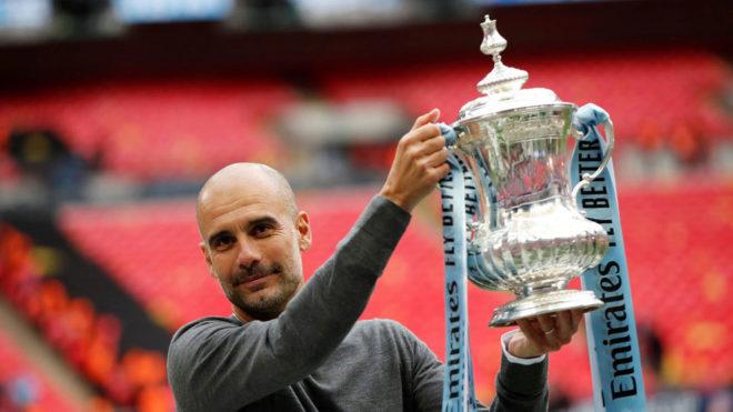 瓜帅:夺国内三冠要难于拿欧冠 生涯最完美赛季