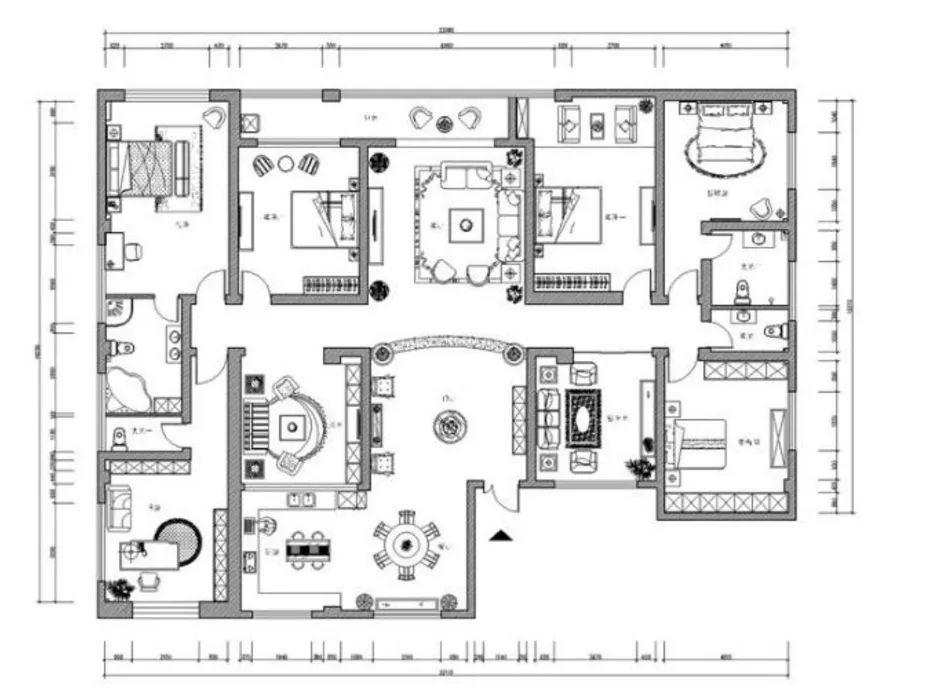 室内平面图设计