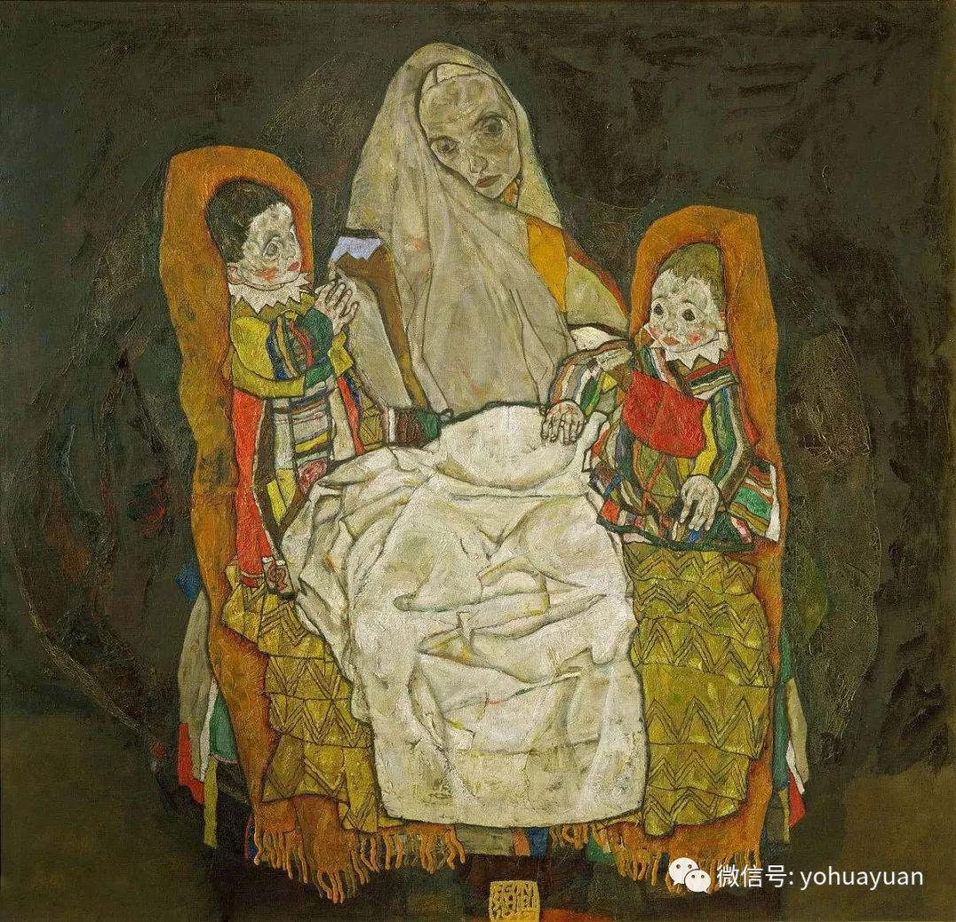 油画欣赏—— 席勒