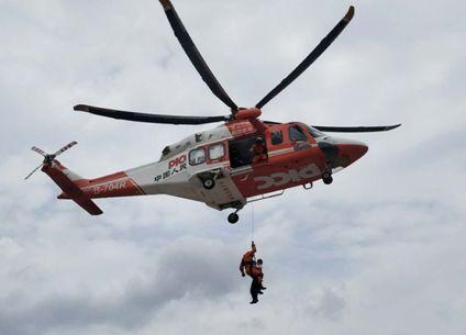 三明市区上空出现直升飞机,怎么回事?