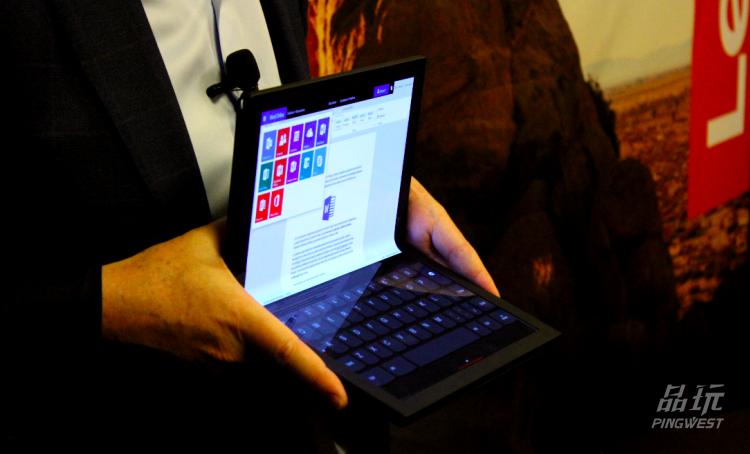 我们试了试联想可折叠屏PC,发现它还缺一点键盘手感 5G资讯 第6张