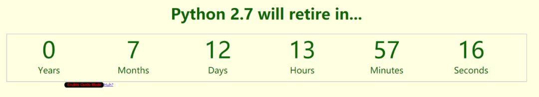 Python 2.7终结于7个月后,这是你需要了解的3.X炫酷新特性