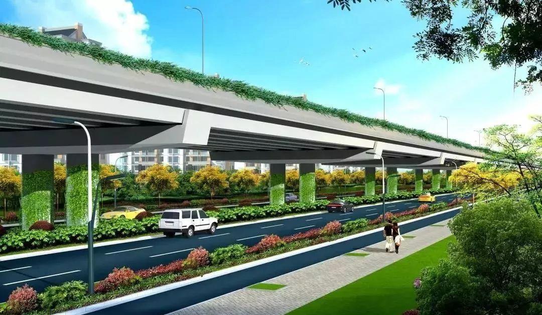 新方案实施!市区这条公路正进行大面积改造