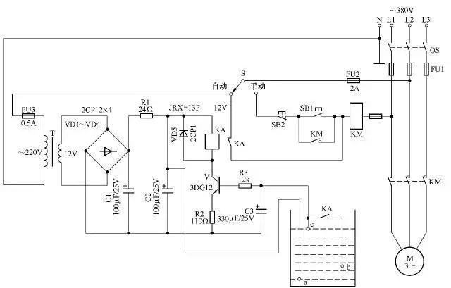 28例电气自动控制电路图,快收藏!